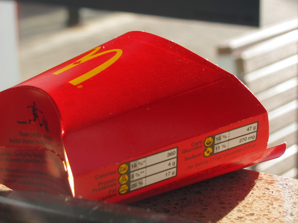 McDonald's a recyklace